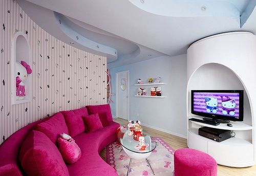Living Room Hello Kitty  For The Home Pinterest
