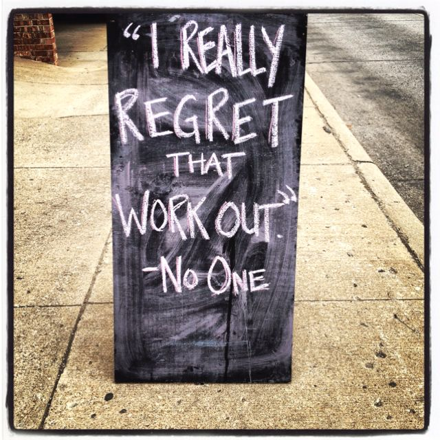 Talk about living without regrets! #fitness #health