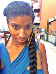 goddess crown braid