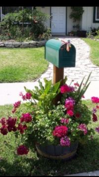 Ideas to decorate mailboxes | extra | Pinterest