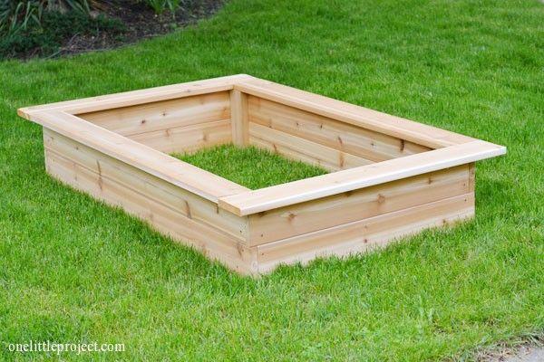 Making Above Ground Garden Box
