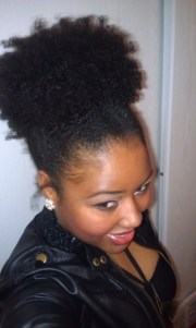 natural hair - high puff lovenaturalhair