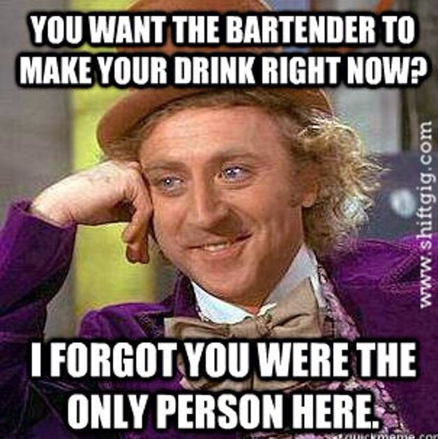 Image result for Funny Bartender Quotes