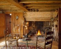 Walk in fireplace | My little cottage in the woods ...