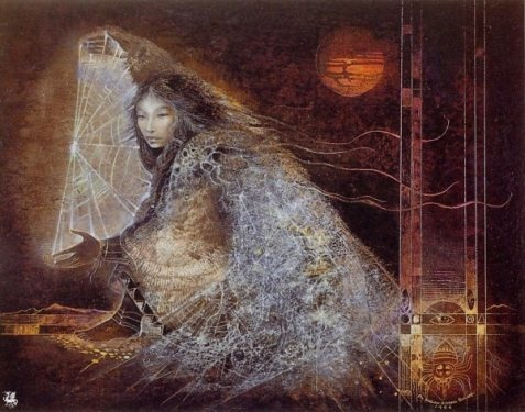 Spider Woman by Susan Seddon Boulet, 1986