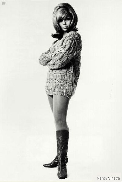 Boots fashion girls of years 60s 70s