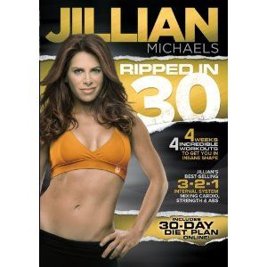 just began jillian michaels ripped in 30 for the month of may. did the shred last year and this is soo much harder.