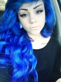 Amazing Electric Blue Hair Hair Colors Ideas Of Hair Color ...
