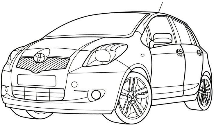 Coloring Toyota Hilux Coloring Pages