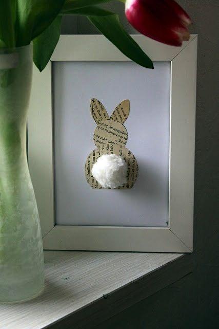 пасхальный кролик украшение стола пасха