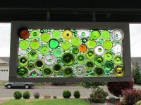 Glass Art   Upcycled: Bottles & Cans   Pinterest