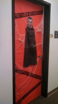 Office Door: Office Door Halloween Decorations