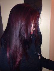 red velvet hair colour color