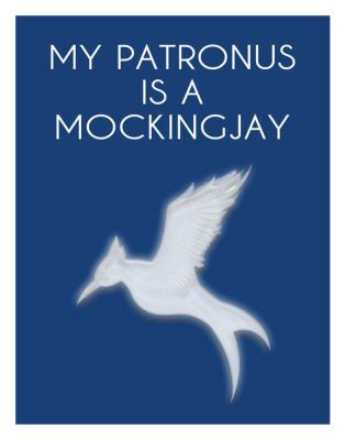 My Patronus is a Mockingjay