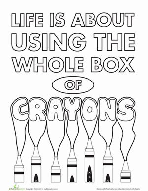Funny Crayon Quotes. QuotesGram