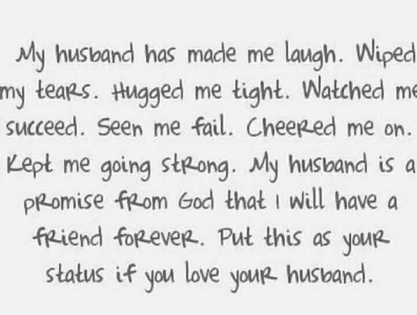 Love My Husband Funny Quotes QuotesGram