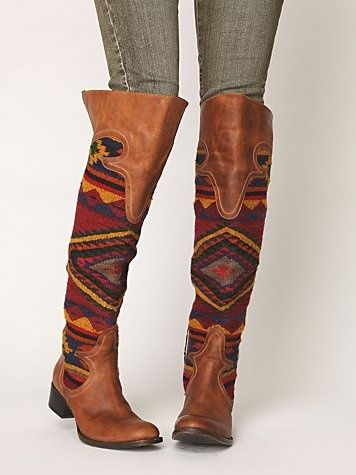 Southwestern Boots something different