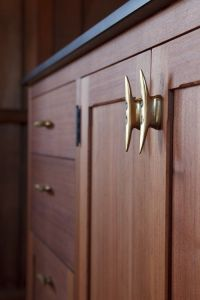 Boat cleats used as cabinet hardware   ideas for the lake ...
