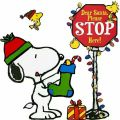 Snoopy santa stop christmas quotes and images pinterest