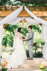 Outdoor wedding ceremony set up. | Wedding Party | Pinterest