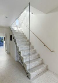 glass enclosed staircase | number 16 | Pinterest