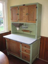 Amazing 1920's kitchen Hoosier cabinet. Flour bin and ...