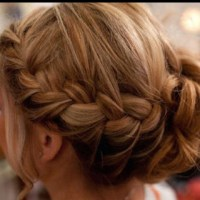 Braid into a bun | Hair | Pinterest