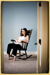 Maternity Rocking Chair | photo ideas | Pinterest
