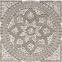 FLOORS 2000 Medallions Multi Colored Natural Stone Mosaic ...