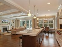 Room Transition ~ dining-kitchen-living | For the Home ...