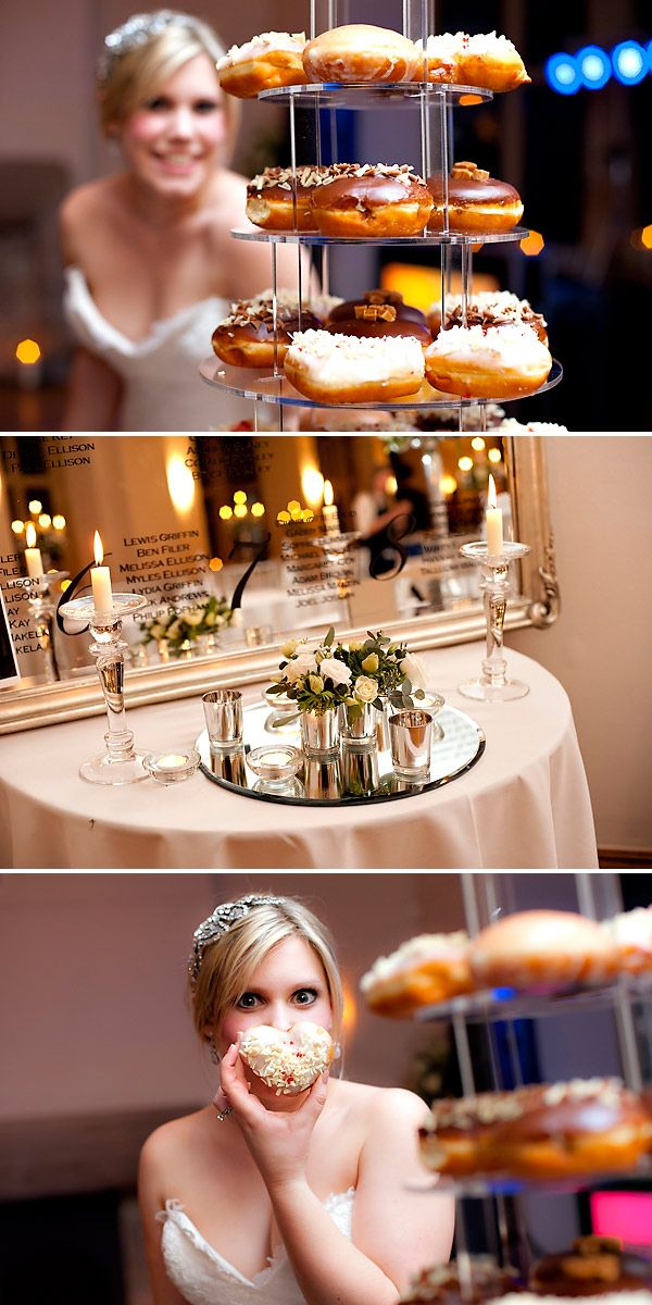 Alternative to wedding cake: DONUTS. Someone actually did it!