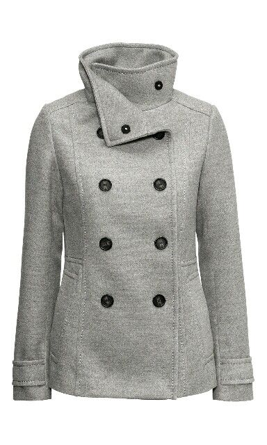 H&M Fall Fashion Trends - Classy Grey Jacket #H&M #Jackets  Get a 20% H&M Coupon Code here - http://www.thriftymoment.com/search?h=%23hm