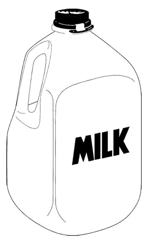 Gallon Of Milk Clip Art