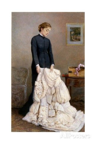 The Young Widow, 1877 Giclee Print by Edward Killingworth Johnson