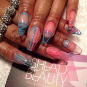 clear nail design unique advanced