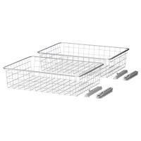 ELG Wire basket - IKEA $20/2pk | Closet or Laundry Room ...