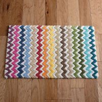 colorful bath rugs