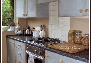 Paris Grey Kitchen Cabinets