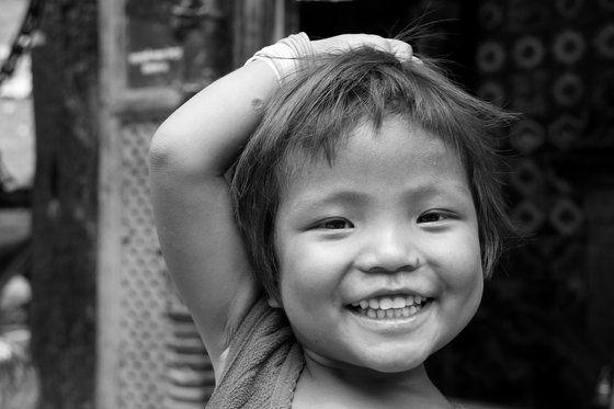 Un sorriso nepalese!  # Buongiorno # felicità # nepal