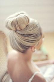 big bun wedding hair 7.27.13
