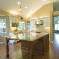 kitchen island with extended table | For the Home | Pinterest