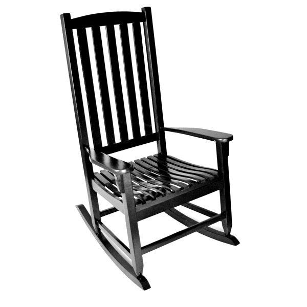 Outdoor rocking chair Black or white  Charlotte