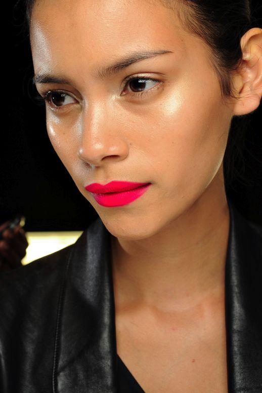 bright matte lip