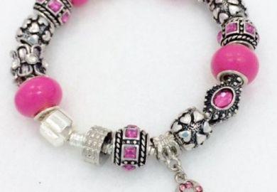 Cancer Charm Bracelet