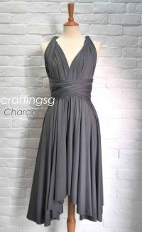 Charcoal Grey Bridesmaid Dresses Uk