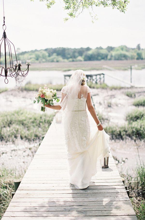Www.riveroakscharleston.com Photography -Virgil Bunao  @LulaKate -wedding gown design
