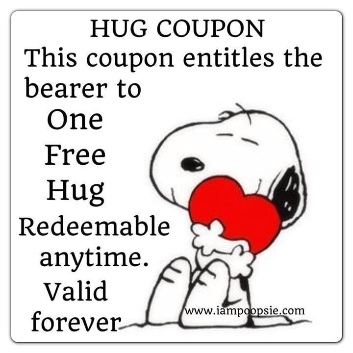 Snoopy Quotes Hug. QuotesGram