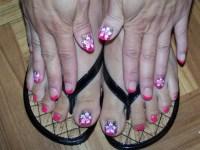 Hawaiian Flower Nail Design | Joy Studio Design Gallery ...