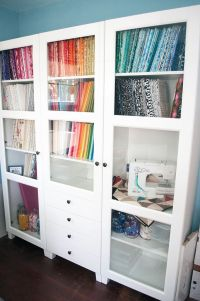 storing fabric hints | Sewing room & storage ideas | Pinterest