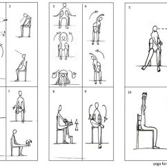Chair Exercise For Seniors Handout Girls Desk And Exercises Yoga With Arthritis